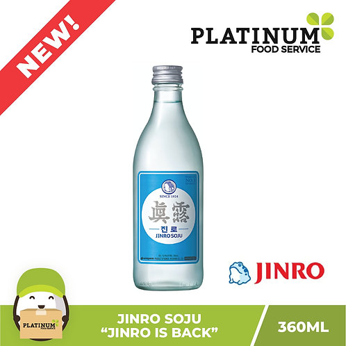 "Soju ""Jinro is Back"" 360mL"