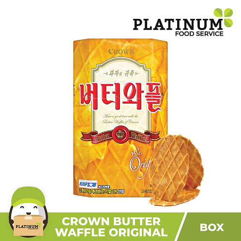 Crown Butter Waffle Biscuits 135g