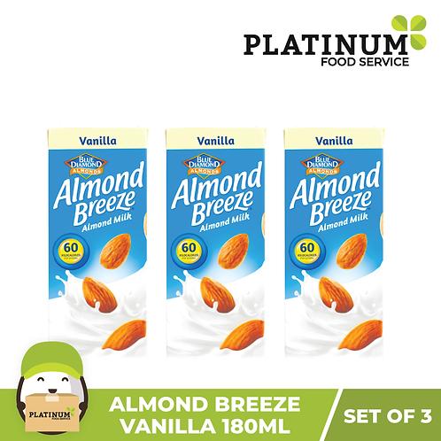 Almond Breeze Vanilla (180mL x 3)