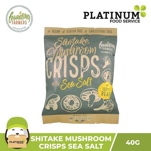 Founding Farmers Shiitake Mushroom Crisps 45g