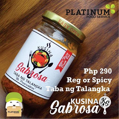 Kusina Sabrosa Taba ng Talangka Regular Flavor 350g
