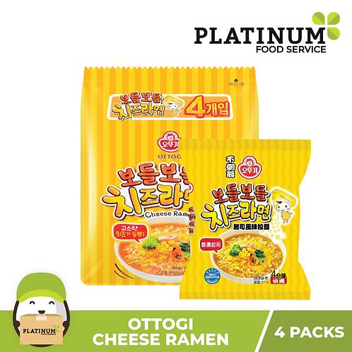 Ottogi Cheese Ramen (pack of 4)