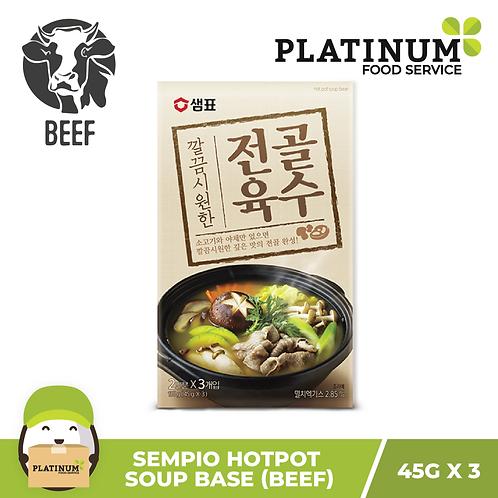 Sempio Beef Hotpot Soup Base (45g x 3)