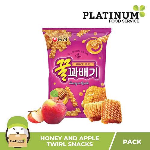 Nongshim Honey Apple Twirl Chips 90g