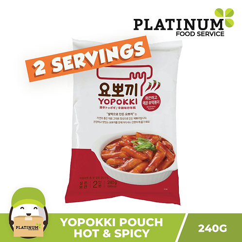 Yopokki Hot & Spicy Pouch 240g