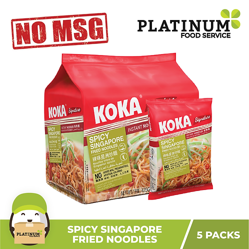 Koka Spicy Singapore Flavor 85g x 5packs