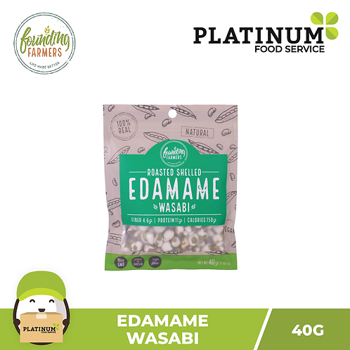 Founding Farmers Roasted Edamame (Wasabi) 40g
