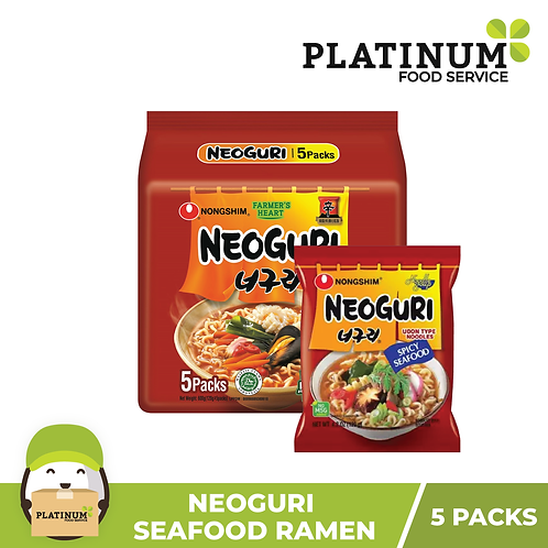 [SALE 30% OFF] Neoguri (Spicy Seafood Udon)