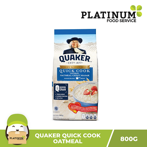 Quaker Quick Cook Oats 800g