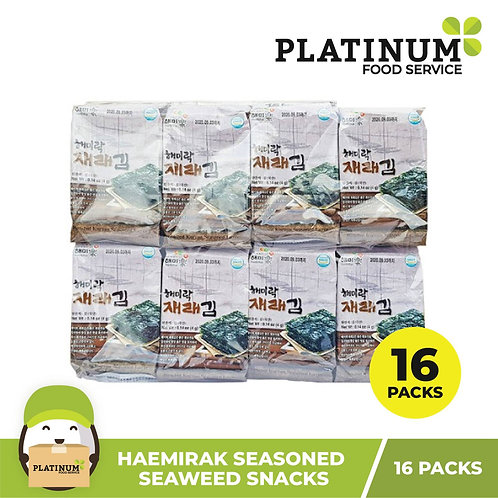 Haemirak Seasoned Seaweed 4g x 16