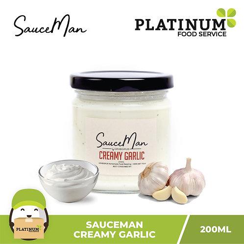 SauceMan: Creamy Garlic Sauce 200mL