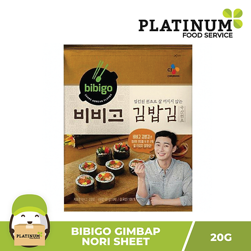 Bibigo Nori Sheet for Gimbap (10 sheets) 20g