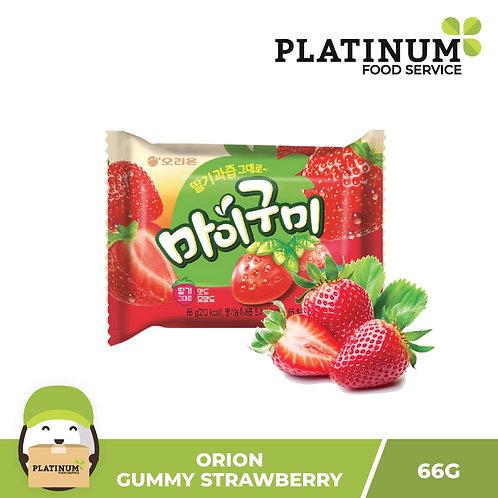Orion Gummy Candy Strawberry 60g