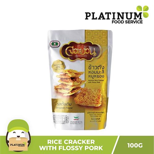 Little Farm Jasmine Rice Cracker with Flossy Pork 100g