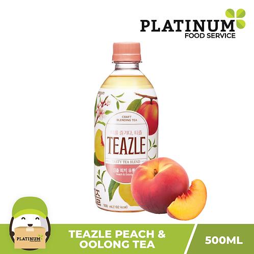 Teazle (Peach and Oolong Tea Flavor) 500mL