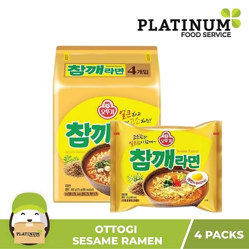 Ottogi Sesame Ramen (pack of 4)