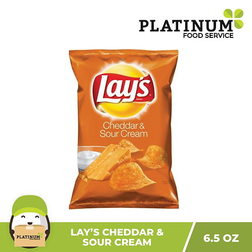 Lay's Cheddar Sour Cream Chips 184.2g
