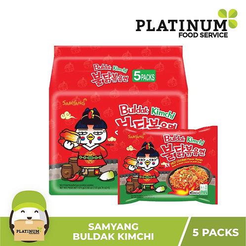 Samyang Hot Chicken Kimchi Flavor 140g x 5