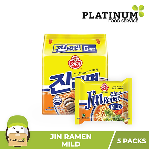 Jin Ramen - Mild (pack of 5)
