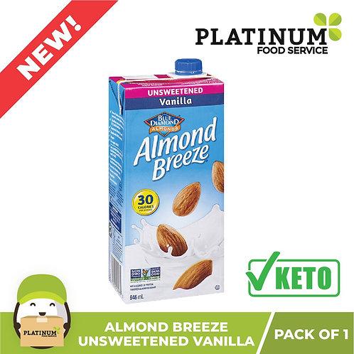 Almond Breeze Unsweetened Vanilla 946mL
