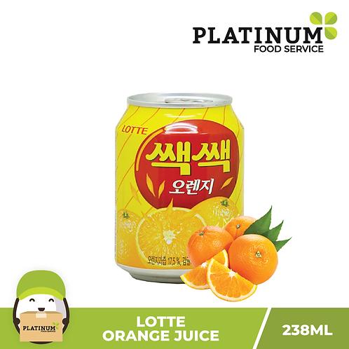 Lotte Orange Juice 238mL