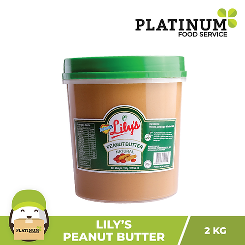Lily's Classic Peanut Butter 2kg