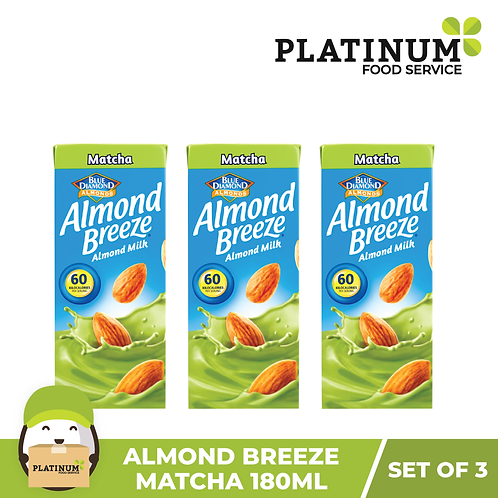 Almond Breeze Matcha (180mL x 3)