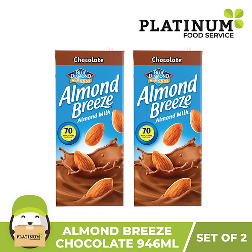 Almond Breeze Chocolate (946 mL�x 2)