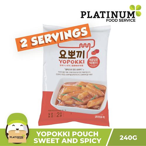 Yopokki Sweet & Spicy Pouch 240g
