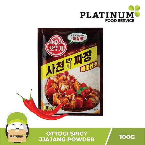 Ottogi Jjajang (Black Bean) Powder Spicy 100g