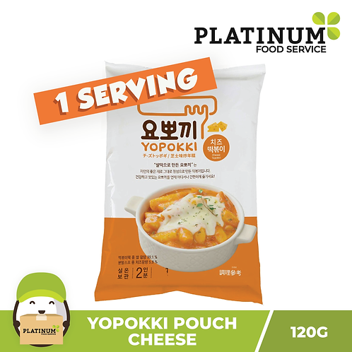 Yopokki Cheese Pouch 120g