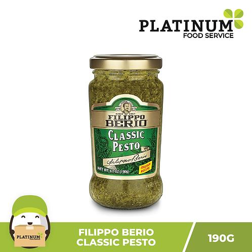 Filippo Berio Classic Pesto Sauce 190g (Green)
