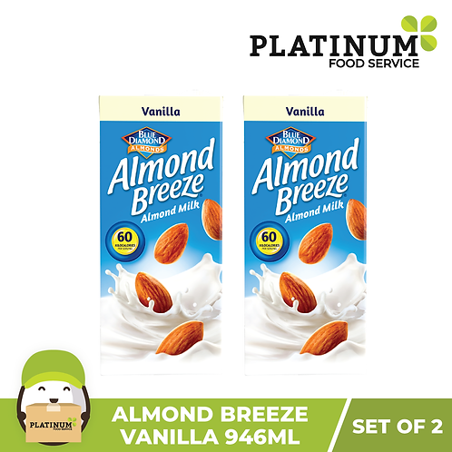 Almond Breeze Vanilla (946 mL x 2)