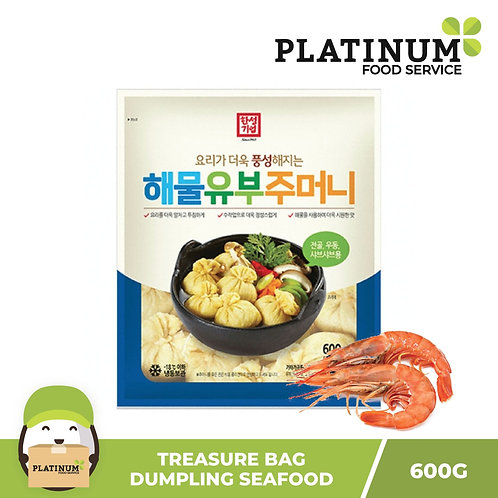 [SALE 50% OFF] Treasure Bag Dumpling Seafood Flavor 600g