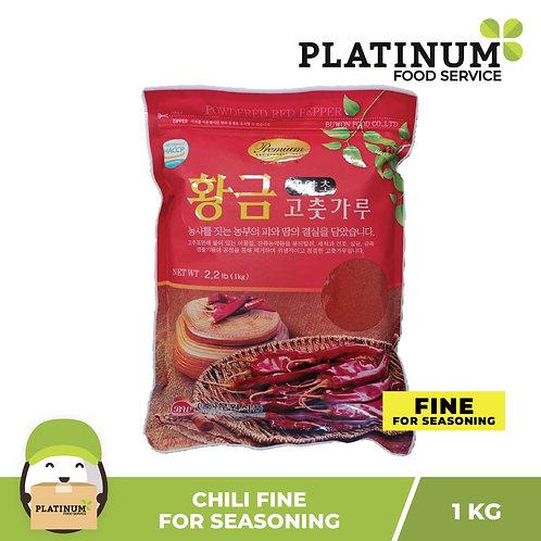 Hwanggum Chili Fine Powder for Seasoning 1kg