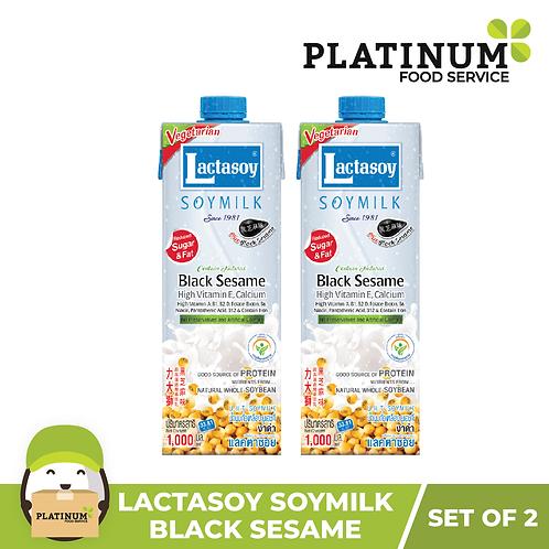 Lactasoy Soymilk - Black Sesame (pack of 2)