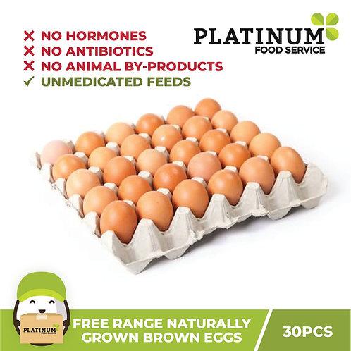 Free Range Brown Eggs 30pcs