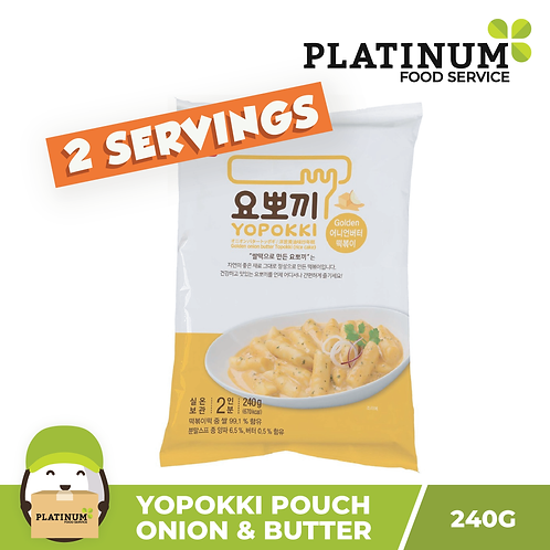 [SALE 50% OFF] Yopokki Onion & Butter Pouch 240g