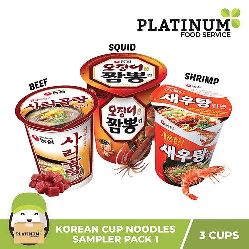 Korean Cup Noodle Bundle 1