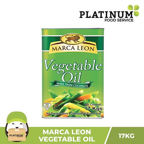 Marca Leon Vegetable Oil 17 kg