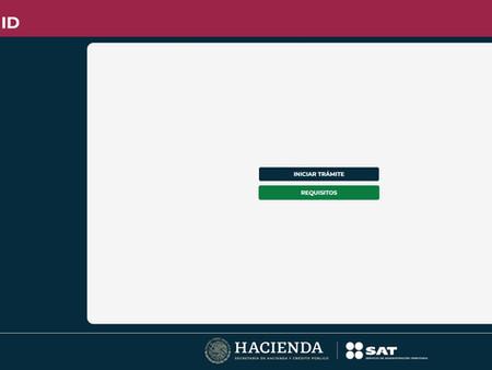 """Lanza SAT nueva página Wed """"SAT ID"""" para generación y actualización de contraseña"""