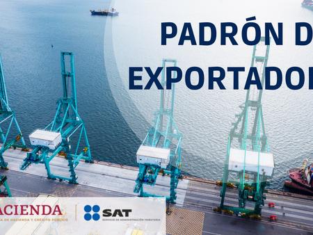 PADRÓN DE EXPORTADORES SECTORIALES
