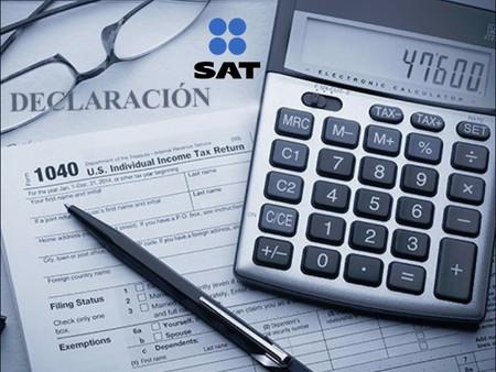 Las declaraciones de impuestos suben al 29% así lo declara el SAT.