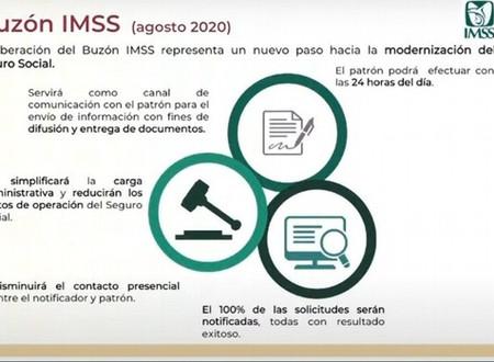 La Nueva Herramienta Buzón IMSS; Entrará en Operación en el mes de Agosto de 2020