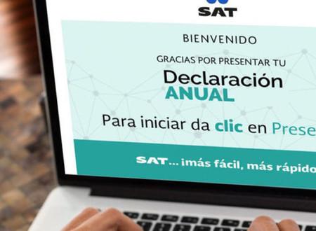 Multas de miles de pesos, por no hacer tu declaración anual al SAT