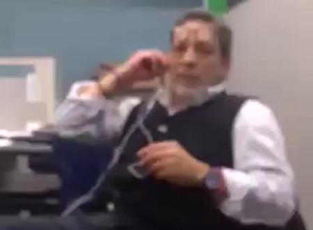 Administrativo del SAT es exhibido por desprestigiar a los empresarios #VIDEO