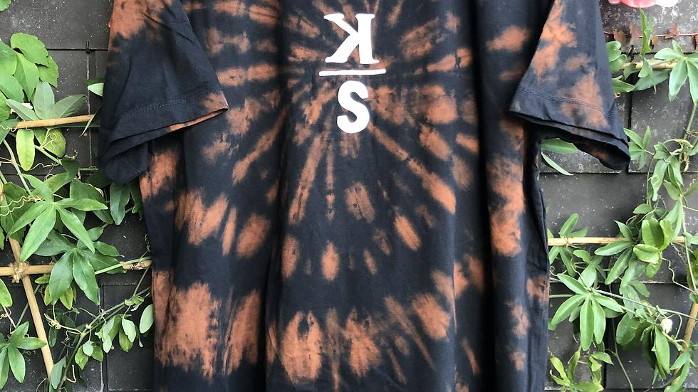 KS-Shirt Black TieDye