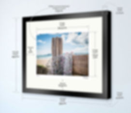 Our larger sized fully framed photos