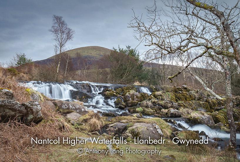 Nantcol Upper Waterfall, Llanbedr, Gwynedd, North Wales