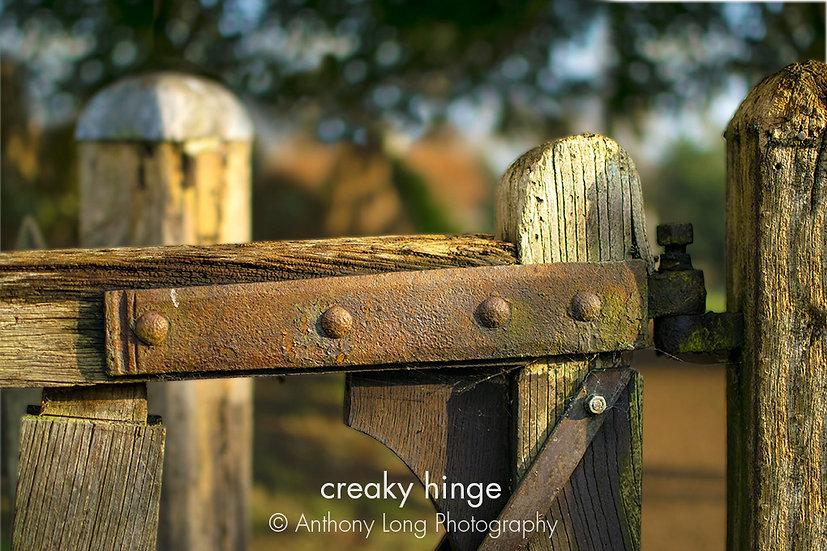 Creaky hinge
